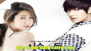 Lee Hong Ki-I'm saying(Heirs ost)romanian subtitle