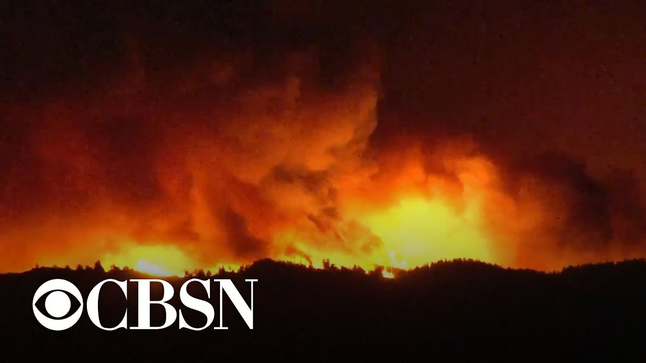 Wildfires burn in Northern and Southern California