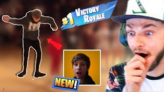 Kid does Fortnite dances in front of whole school