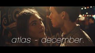 atlas grey - december (lyrics music video)