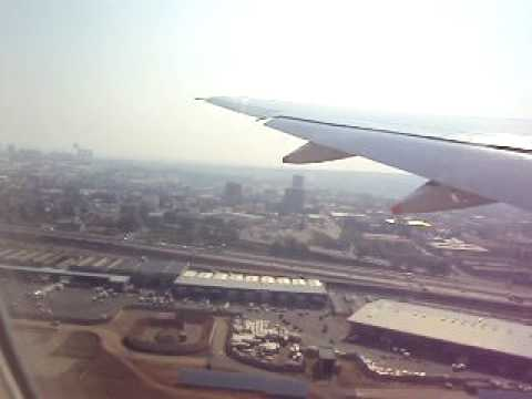 Singapore Airlines 777 Takeoff from Johannesburg (South Africa)