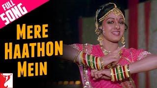Mere Haathon Mein - Full Song | Chandni | Rishi Kapoor | Sridevi | Lata Mangeshkar width=
