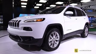 2015 Jeep Cherokee  Limited 4x4 - Exterior Walkaround - 2015 Montreal Auto Show