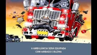 Ganda Malucos   Ano 2015   177   Extras   AMBULANCIA MULTADA