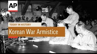 Korean War Armistice Signed - 1953  | Today in History | 27 July 16