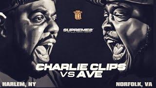 CHARLIE CLIPS VS AVE SMACK/ URL RAP BATTLE width=