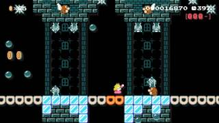 Peachy 6-3: Yharnam Catacombs by Jayman - SUPER MARIO MAKER - NO COMMENTARY