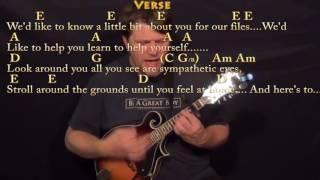Mrs. Robinson (Simon and Garfunkel) Mandolin Cover Lesson with Chords/Lyrics - Capo 2nd