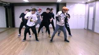 BTS - Boy in Luv - mirrored dance practice video - 방탄소년단 상남자 (Bangtan Boys)