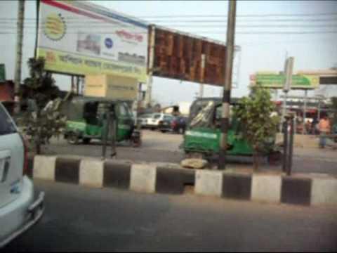 on the way in Bangladesh,Dhaka.mp4