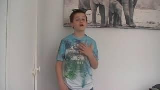 Opnieuw - Teske -  Sjoerd Brakshoofden  Auditievideo 2 The voice kids