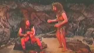 First man to dance! AKA Caveman dance :D