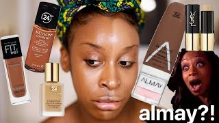 What Happens If I Try Foundations With the Same SHADE NAME?!   Jackie Aina