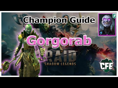 RAID Shadow Legends | Champion Guide | Gorgorab