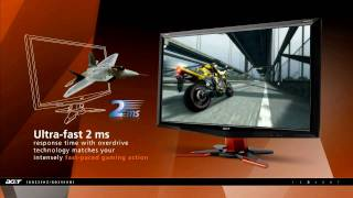 Acer GD245HQbid Gaming 3D Monitor (Demo)