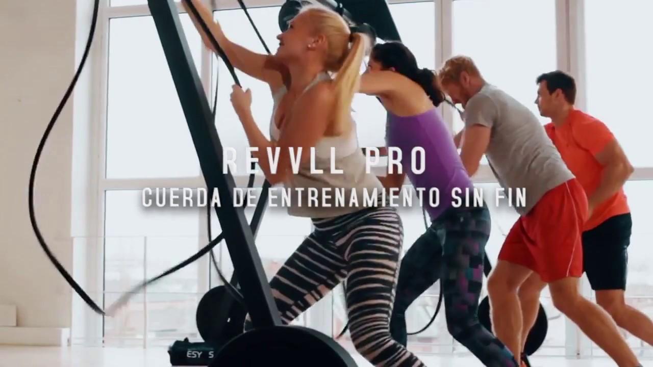Vídeo YouTube Cuerda sin fin Revvll PRO