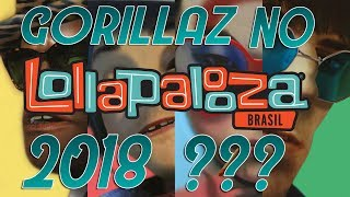 GORILLAZ NO BRASIL!!!