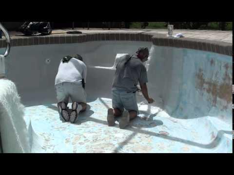 Come riparare una piscina in vetroresina fai da te mania for Riparare piscina