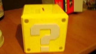 Cofre bloco Mario Bros. com som - Incrível Demais