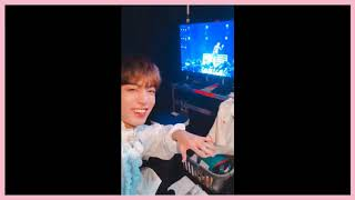 BTS Jungkook Cute Reaction To BTS Suga Seesaw & Mic Drop