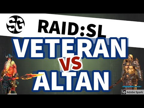 [RAID SHADOW LEGENDS] VETERAN VS ALTAN NIGHTMARE CLAN BOSS