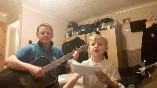 My son Finlay singing we got Salah do do do do do do oh Mane Mane 2nd attempt