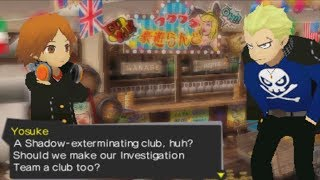 Persona Q: Shadow of the Labyrinth- Dreaming of Club Activities -P3 Side- (Stroll)