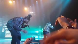 Nekfeu - Tempête feat Doums en live à Nantes le 21 mars 2017 !