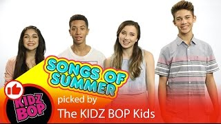 Introducing The Hottest Songs of Summer 2016 from KIDZ BOP & YouTube Kids!