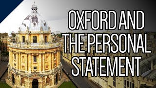 How important is the personal statement when applying to Oxford?