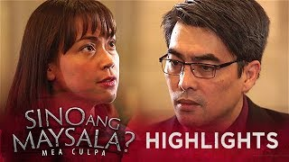 Lucio becomes wary of Fina's questions   Sino Ang Maysala (With Eng Subs)