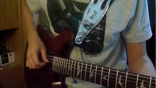 Yasuharu Takanashi - Night Attack, OST Film 4 - Naruto Shippuuden Guitar Cover by robokobo91
