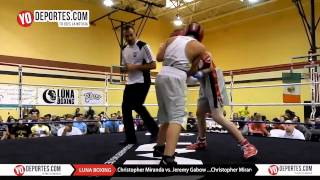 Christopher Miranda vs. Jeremy Gabow 2015 Luna Boxing
