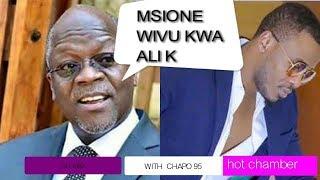 OYOOO! Ali Kiba Kwenda Nyumbani Kwa Magufuli kufanya hili hapa