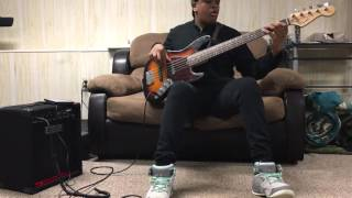"J Moss ""Praise on the Inside"" (Bass Cover)"