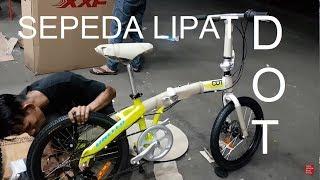 Sepeda Lipat United DOT 20 inch Alloy Disc Brake