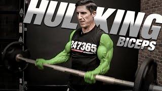 How to Get Big Biceps - GUARANTEED!! (Hulk Arms)