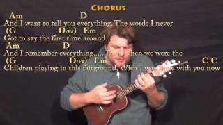This Town (Niall Horan) Ukulele Cover Lesson in G with Chords/Lyrics