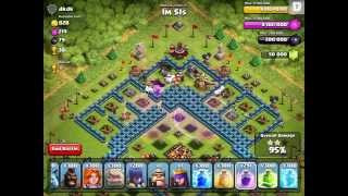Clash of Clans - 300 Laggy Witches!