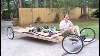 Giant Mousetrap powered Car