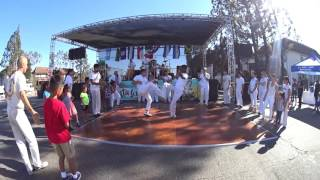 Capoeira Batuque at Fiesta South LA, 10-08-16