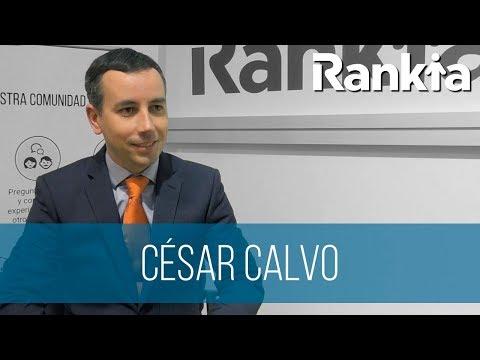"""Entrevistamos a César Calvo Director de Desarrollo de negocio y Corporativo en Bankinter durante los Premios Rankia. Nos habla qué es lo que diferencia a la Hipoteca Fija de Bankinter del resto de hipotecas del mercado, así como de cuál es el peso de la """"Financiación"""" con respecto al resto de áreas de negocio de Bankinter."""