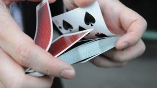 خدع الورق - طريقة خلط أوراق اللعب