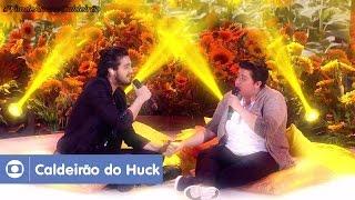 Luan Santana canta 'Trem-Bala' com Ana Vilela no Caldeirão