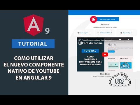 Tutorial: Como utilizar el nuevo Componente nativo de Youtube en Angular 9