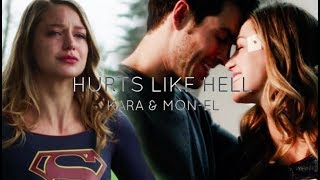 Kara & Mon-El | Hurts Like Hell (+3x07)