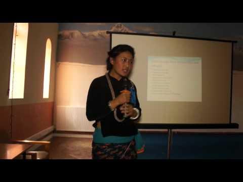 Miss. Pushpa Sunuwar (Talant Round) Miss UK Nepal 2012
