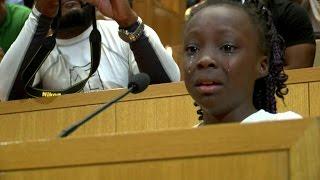 O emocionado discurso da menina de 9 anos que chamou a atenção do mundo para a tensão racial nos EUA