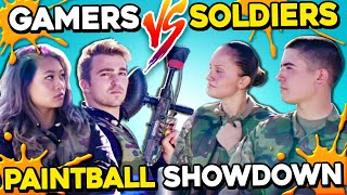 Gamers Vs. Soldiers Paintball Challenge   Rainbow Six Siege IRL