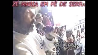 CELEBRIDADE MARACAENSE -  2000 -  ZE MARIA EM PE DE SERRA